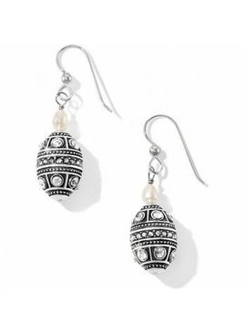 Brighton Bangle Mumtaz Pearl French Wire Earrings