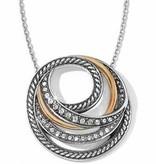Neptune's Rings Short Necklace-JL4163