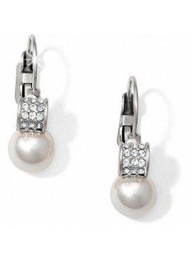 Brighton Earrings Meridian Pearl Leverback Earrings