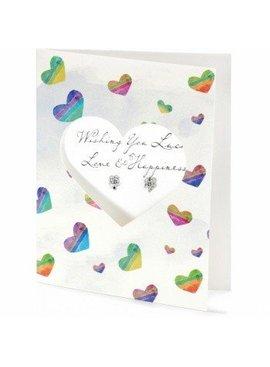 Brighton Petite Pretty Petite Luck Card Earrings