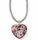 Bella Love Heart Necklace-JL4943