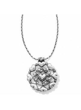Love Mandala Reversible Short Necklace