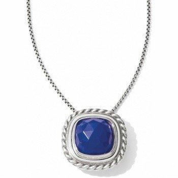 Color Clique Gem Lapis Necklace-JL5090