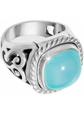 Brighton Ring Color Clique Gem Scroll Ring Set