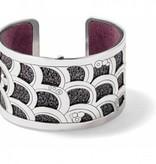 Christo Tokyo Wide Cuff Bracelet Set-JF1630