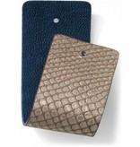 Brighton Leather Strap Christo Wide Strap Gold/Lagoon-JF166G