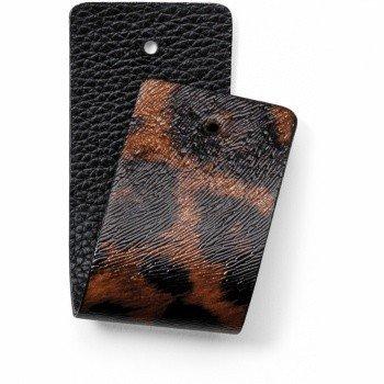 Brighton Leather Strap Christo Wide Strap Leopard/Black-JF166H