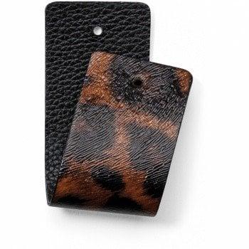 Christo Wide Strap Leopard/Black-JF166H