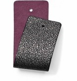 Christo Wide Strap Black/Plum-JF166D