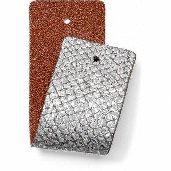 Brighton Leather Strap Christo Wide Strap White/SilCurry-JF166E