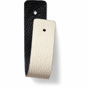 Brighton Leather Strap Christo Narrow Strap White/Black-JF167M