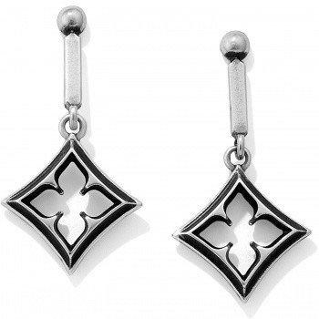 Lorenza Round Post Drop Earrings-JA2620