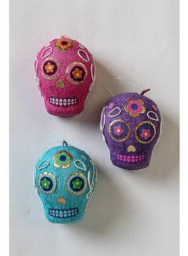 Two's Skull Earrings