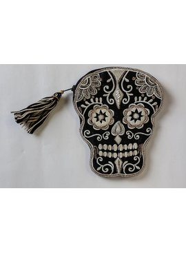 Two's Glam Skull Pouch