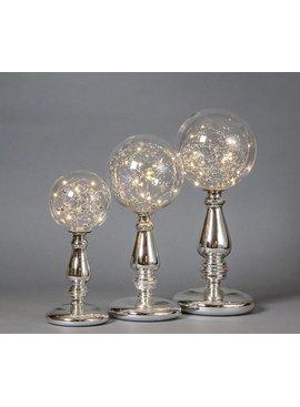 Two's Aurora Silver LED Globe