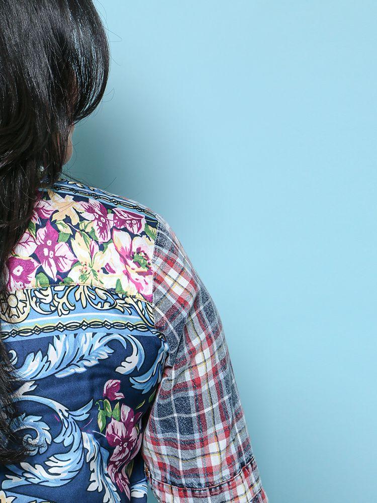 Plaid For You Shirt ED17G311A