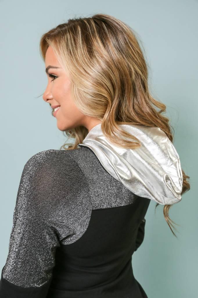 Hoodie Foil Long Sleeve - 5010