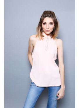 Pearl Detailed Top