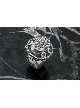 Rings Ring / Virgin Guadalupe W/ Gems On Side