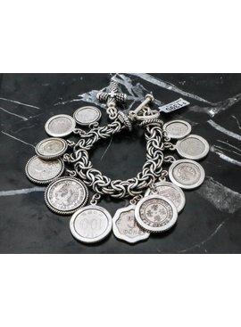 Bracelets Bracelet Olimpica W/ Coins