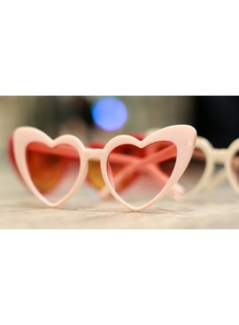 Eyewear Chunky Heart Sunglasses