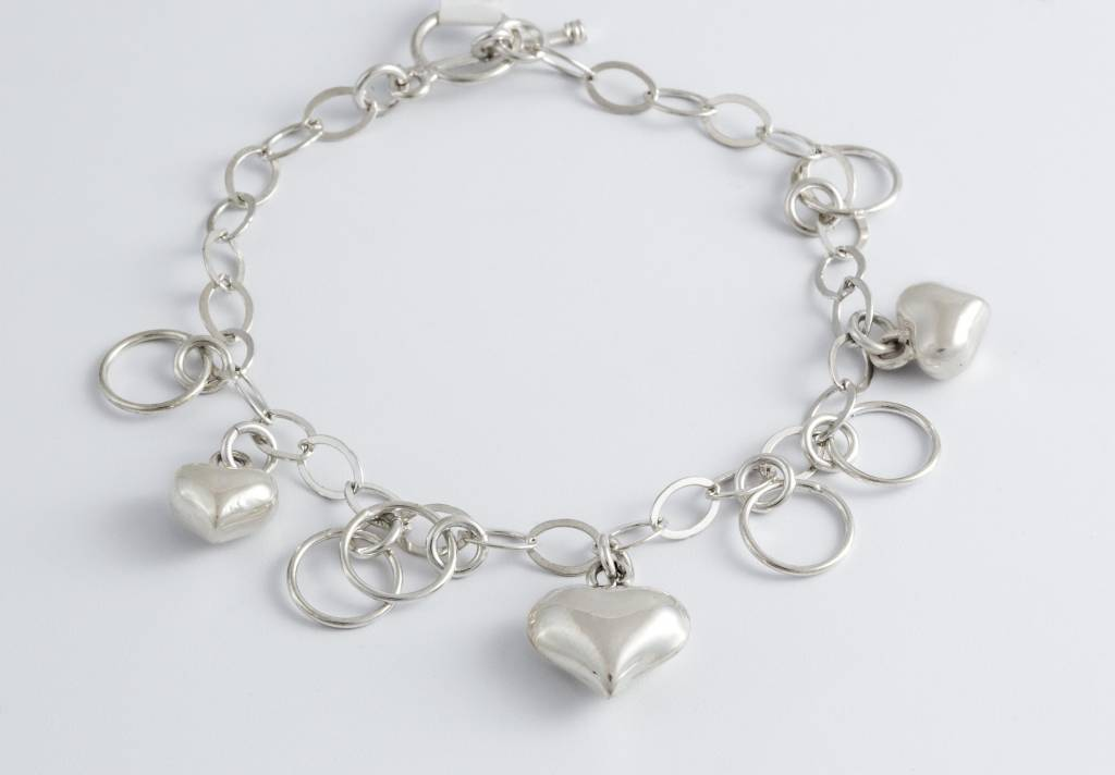 Bracelet-SS / Assorted Charms