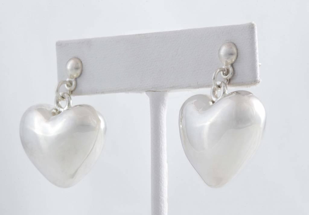 Earrings-SS / Plain Heart