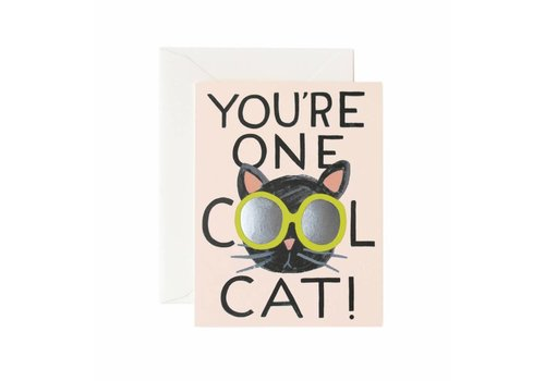 RIFLE PAPER CO. CARTE - COOL CAT