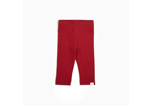 Miles Baby Brand LEGGING HOLIDAY - ROUGE
