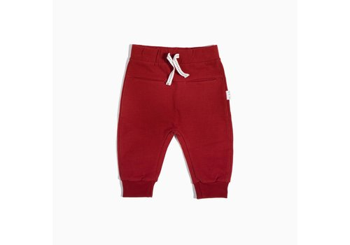 Miles Baby Brand PANTALON HOLIDAY - ROUGE
