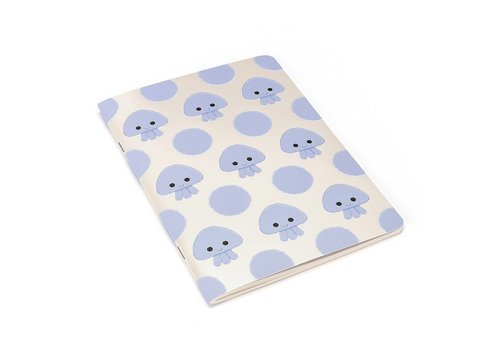 JELLYCAT CAHIER DE NOTES - JELLYFISH