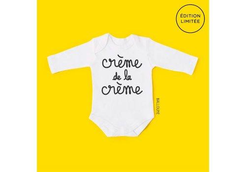 BALLOUNE DESIGN CACHE-COUCHE LONG - CRÈME DE LA CRÈME / BLANC
