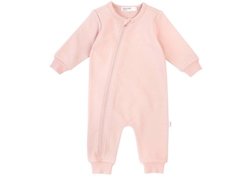 Miles Baby Brand PLAYSUIT BASIC - ROSE