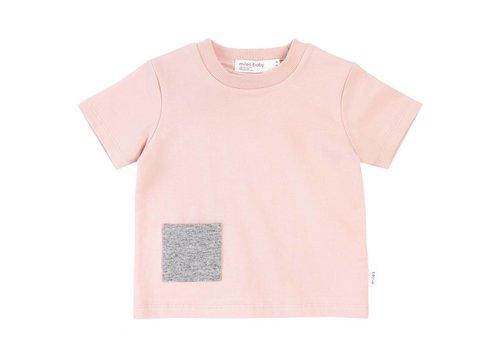 Miles Baby Brand *DERNIÈRE CHANCE* T-SHIRT BASIC - ROSE 18 MOIS