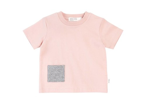 Miles Baby Brand T-SHIRT BASIC - ROSE