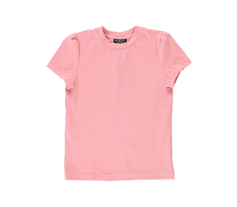 T-SHIRT BOUFFANT - ROSE SAUMON