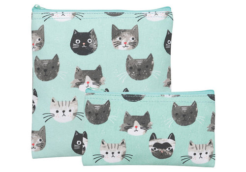 DANICA DUO POCHETTES À COLLATIONS - CATS MEOW