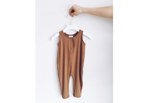 JAX AND LENNON ROMPER TANK - BRONZE
