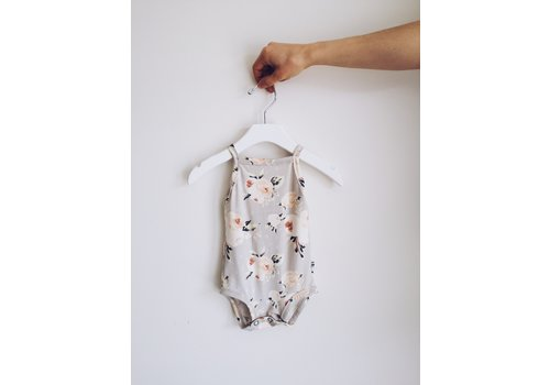 JAX AND LENNON TANK ONESIE - BLUSHING FLORAL