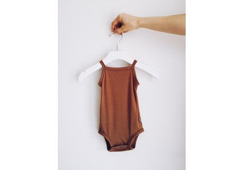 JAX AND LENNON TANK ONESIE - BRONZE