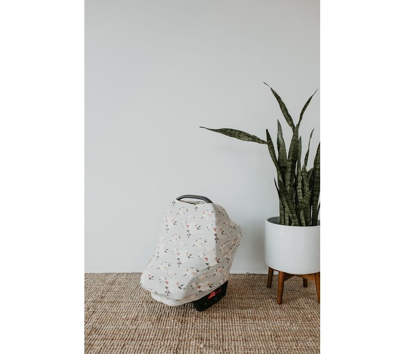 COUVRE-COQUILLE EN BAMBOU - BLUSHING FLORAL