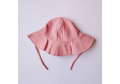 Mini Bretzel CHAPEAU SOLEIL- ROSE