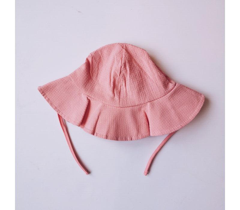CHAPEAU SOLEIL- ROSE