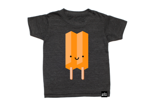 Whistle & Flute T-SHIRT ICE POP - ORANGE