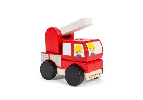 Le Toy Van CAMION DE POMPIER EMPILABLE