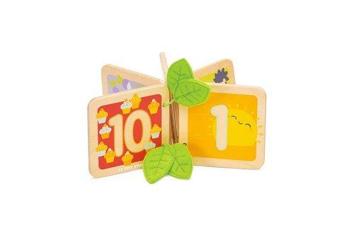 Le Toy Van LIVRE DE BOIS - 1 À 10