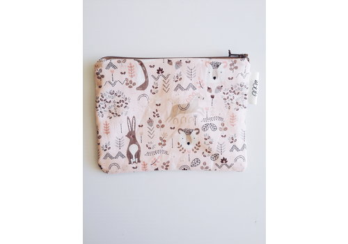 G.A.M POCHETTE À COLLATION - FÔRET ROSE