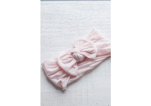 Mini Bretzel BANDEAU PIVOINE (0-5 ANS) - ROSE