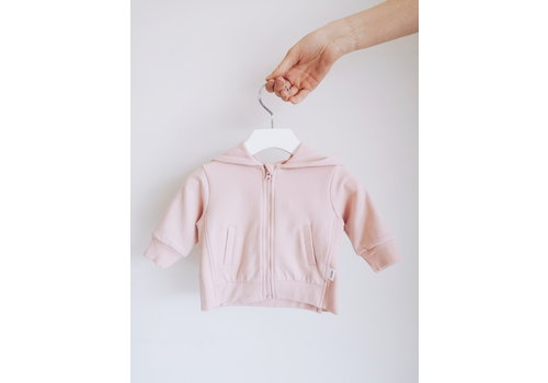 Miles Baby Brand HOODIE BASIC - ROSE