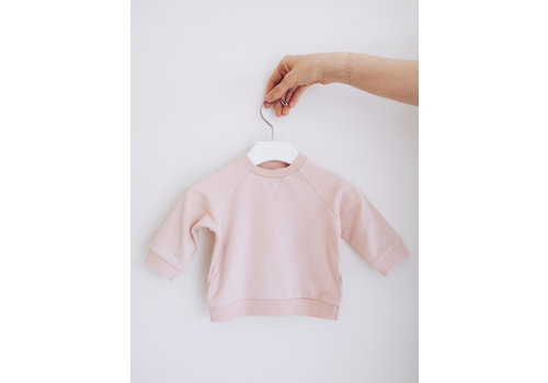 Miles Baby Brand CHANDAIL OUATÉ BASIC - ROSE